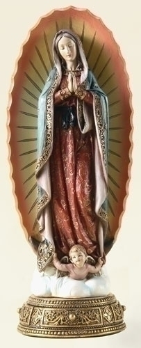 10.75-inch Our Lady Of Guadalupe