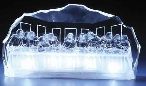 5.5-inch LED Acrylic Last Supper