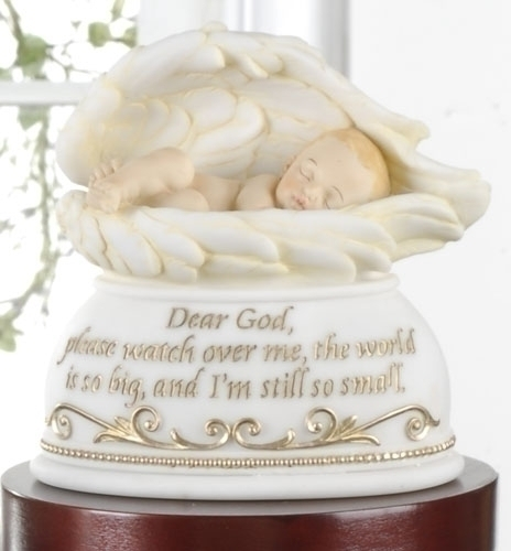 5.75-inch Nightlight Baby In Wings
