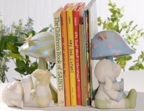 2Pc Set Lamb Bookends