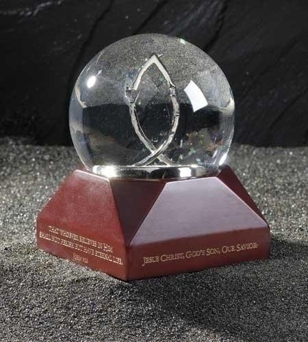 5.75-inch Mus. 100Mm Water Globe