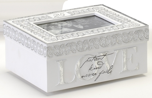 25Th Anniversary Keepsake Box
