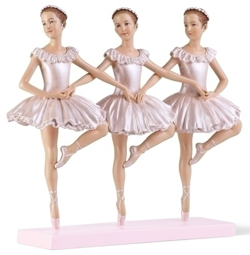 8.25-inch H Ballet Trio Figure