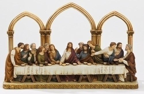 12-inch W Last Supper With Arches