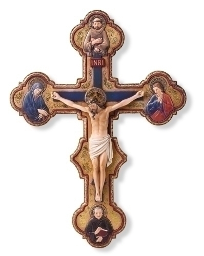 14.5-inch Misericordia Crucifix