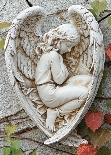 12.25-inch H Sleeping Angel In Wing