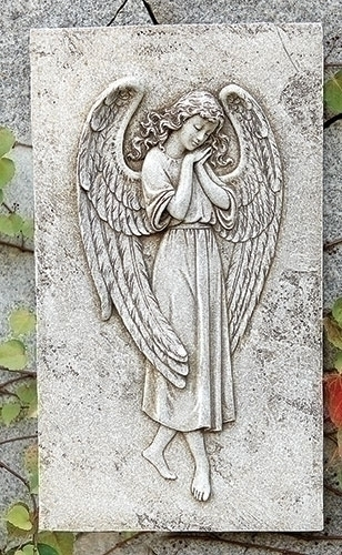 16-inch Angel Relief Wall Plaque
