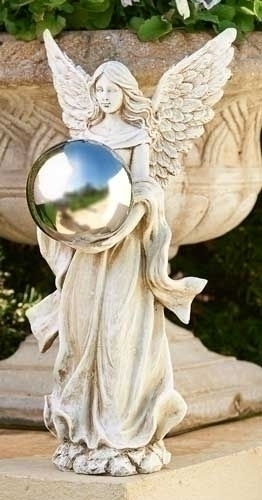 18.5-inch H Angel Gazing Ball