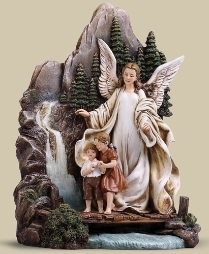 8.5-inch Guardian Angel On Bridge