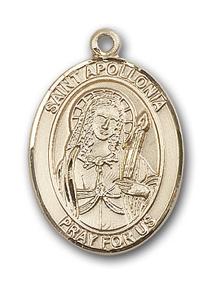 Gold-Filled St. Apollonia Pendant