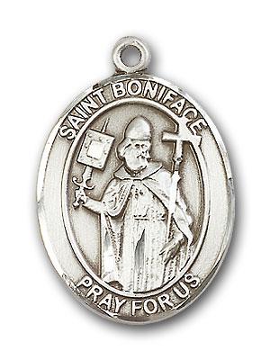 Sterling Silver St. Boniface Pendant