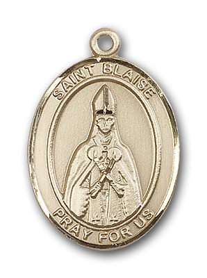 Gold-Filled St. Blaise Pendant