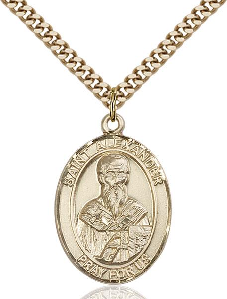 Gold-Filled St. Alexander Sauli Pendant