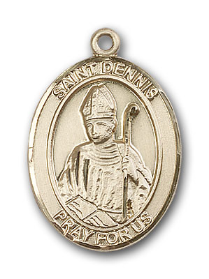 Gold-Filled St. Dennis Pendant