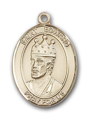 Gold-Filled St. Edward the Confessor Pendant