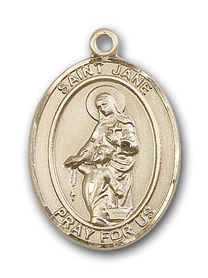 Gold-Filled St. Jane of Valois Pendant