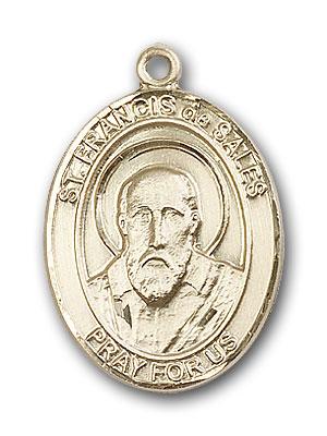 Gold-Filled St. Francis de Sales Pendant