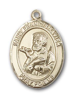 14K Gold St. Francis Xavier Pendant