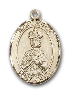14K Gold St. Henry II Pendant