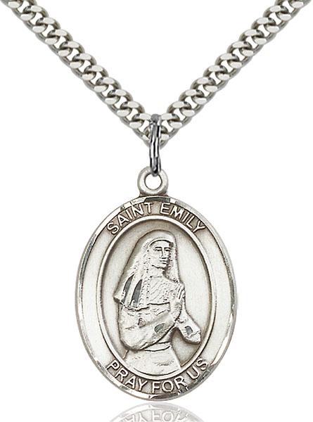 Sterling Silver St. Emily de Vialar Pendant