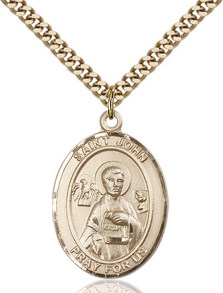 Gold-Filled St. John the Apostle Pendant