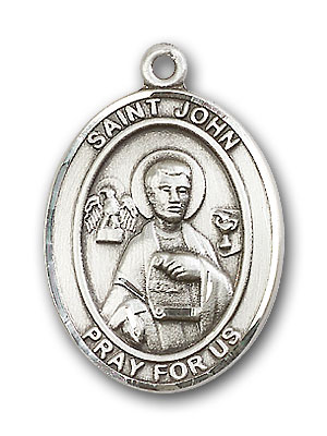 Sterling Silver St. John the Apostle Pendant