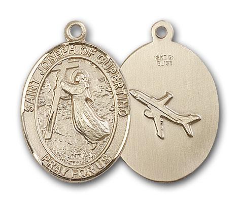 Gold-Filled St. Joseph Of Cupertino Pendant