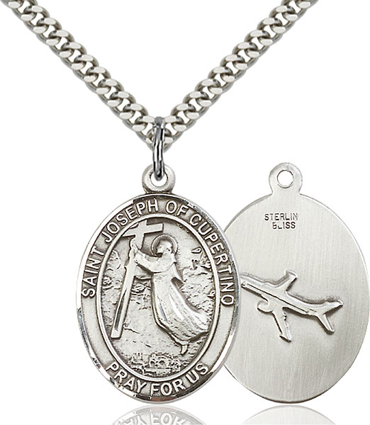 Sterling Silver St. Joseph Of Cupertino Pendant