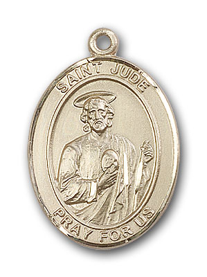 Gold-Filled St. Jude Thaddeus Pendant