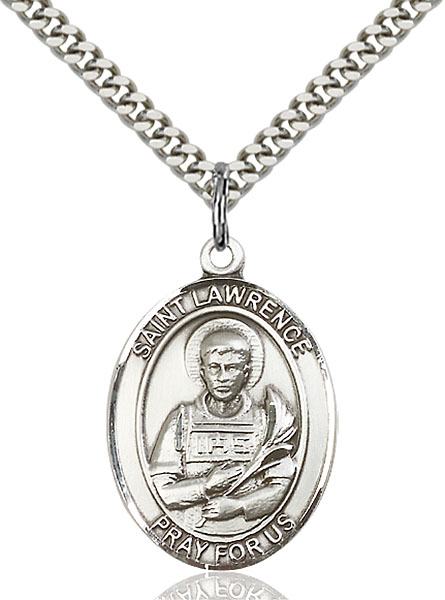 Sterling Silver St. Lawrence Pendant
