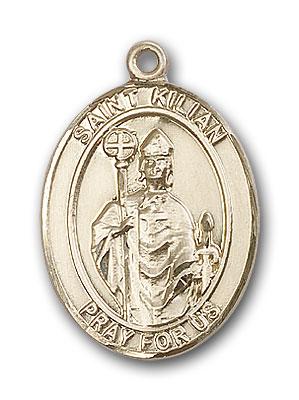 14K Gold St. Kilian Pendant