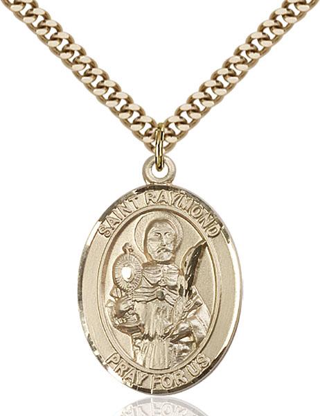 Gold-Filled St. Raymond Nonnatus Pendant