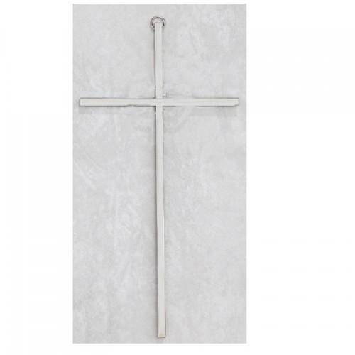 10 Plain Silver Cross