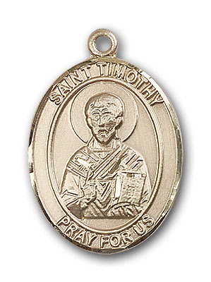 Gold-Filled St. Timothy Pendant