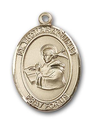 Gold-Filled St. Thomas Aquinas Pendant