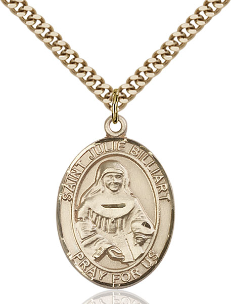 Gold-Filled St. Julie Billiart Pendant