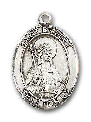 Sterling Silver St. Bridget of Sweden Pendant