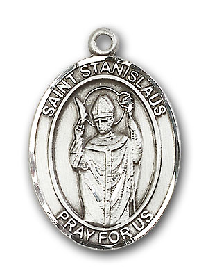 Sterling Silver St. Stanislaus Pendant