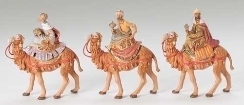 3Pc St 5-inch Kings On Camels Figs