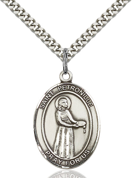Sterling Silver St. Petronille Pendant