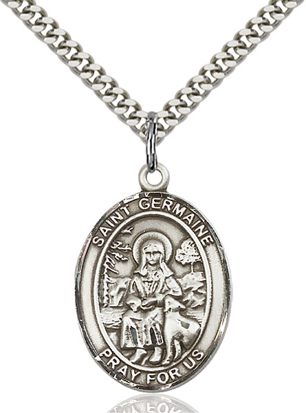 Sterling Silver St. Germaine Cousin Pendant