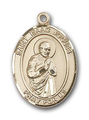 14K Gold St. Isaac Jogues Pendant