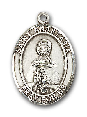 Sterling Silver St. Anastasia Pendant
