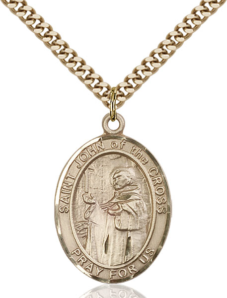 Gold-Filled St. John of the Cross Pendant