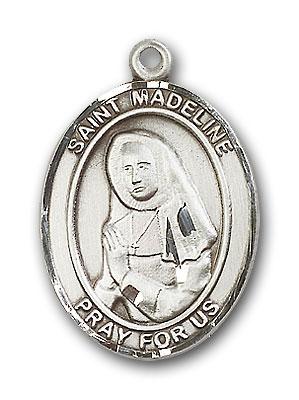 Sterling Silver St. Madeline Sophie Barat Pendant