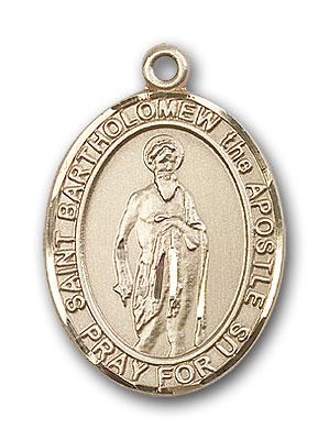 14K Gold St. Bartholomew the Apostle Pendant