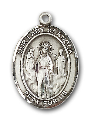 Sterling Silver Our Lady of Knock Pendant