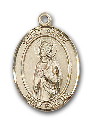 Gold-Filled St. Alice Pendant