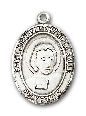 Sterling Silver St. John Baptist de La Salle Penda