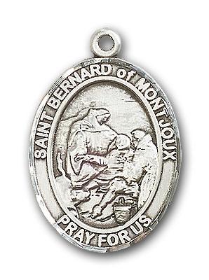 Sterling Silver St. Bernard of Montjoux Pendant